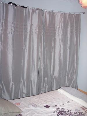 mademoizelle mon dressing enfin ferm 233 par un joli rideau gris p