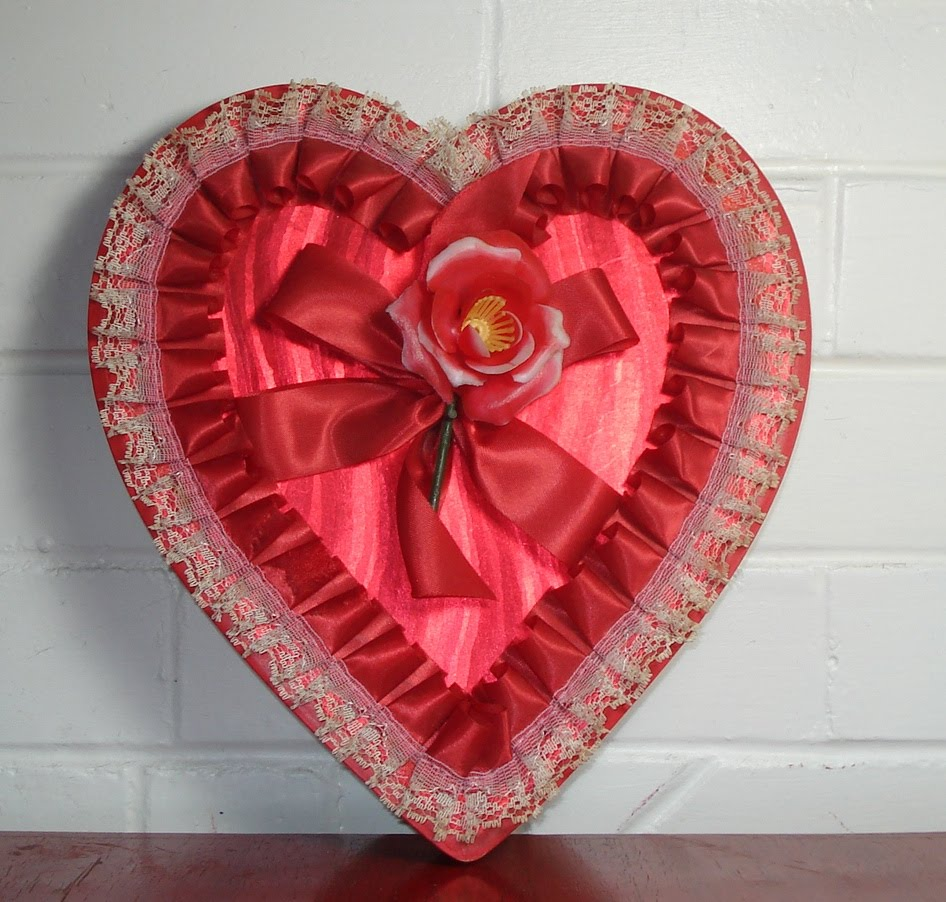 Everyone Is Familiar With The Typical Heart Shaped Valentine Candy Boxes.  They Have Become Very Collectible Because They Pull At Our Heart Strings  And ...