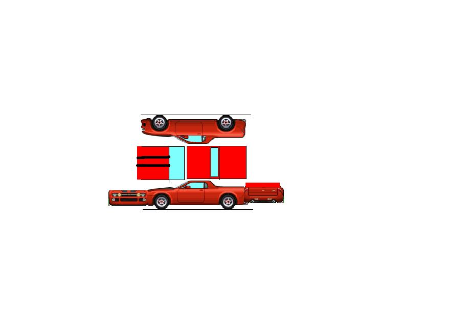 Papercraft Cars Template Car Paper Model Templates
