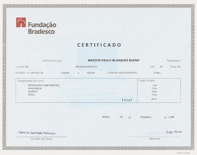 Fundação BRADESCO - Microinformática