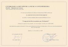 Certificación...