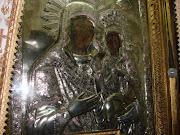 Icoana Sf Ana cu MAica Domnului de la manastirea Bistrita