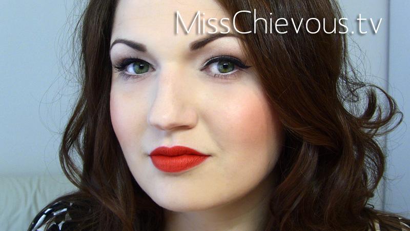 vintage pinup makeup. Rockabilly Pin-Up Makeup