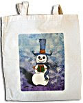 Snowman Gift Tote