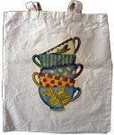Teacups Cotton Bag