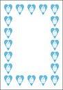 Blue Cupcake Invite