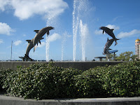 Dolphin Fountain, Downtown Sarasota, FL
