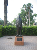 Statue on St. Armands Circle, Sarasota Florida