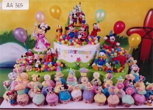 Kue Ulang Tahun yang Bagus dan Besar