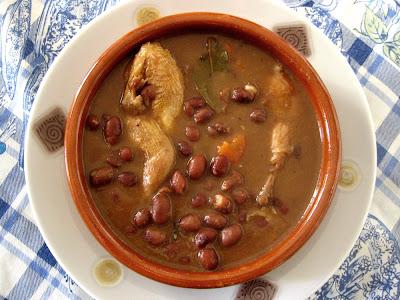 Pan pa hoy y hambre pa ma ana alubias de tolosa con - Alubias con codornices ...