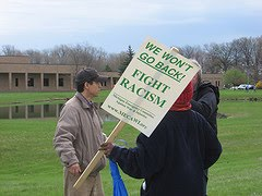 Just Click on This Photo to View the Anti Tea Party Protests in Clinton Township on April 11, 2010