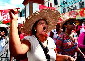 Africans in Guadeloupe and Martinique Have Been on a General Strike