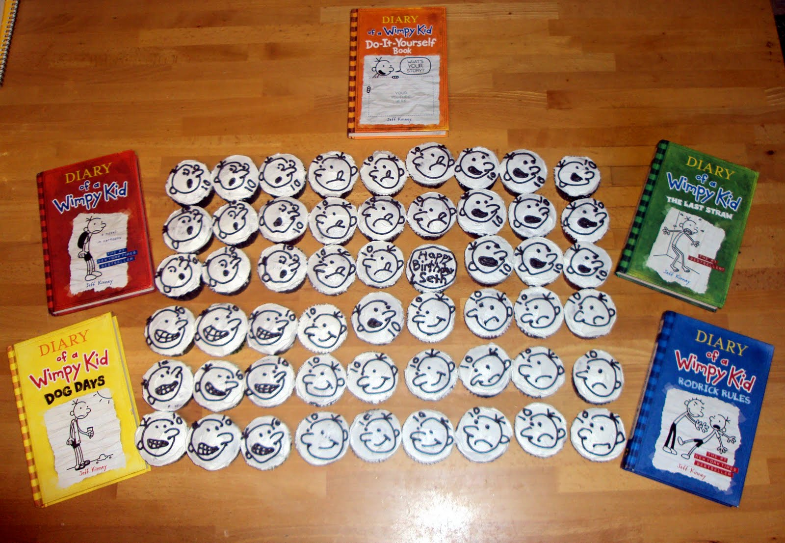 Diary of a wimpy kid cupcakes momma d and da boyz these are some of the inspiration faces alongside my renderings solutioingenieria Image collections