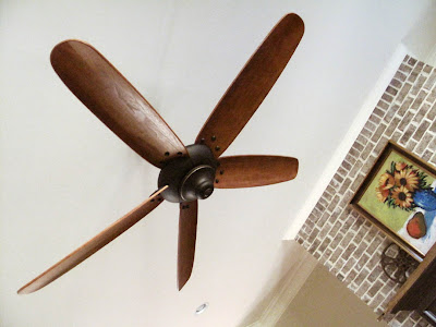 Ramblings from utopia 11 01 2009 12 01 2009 - Propeller ceiling fans ...
