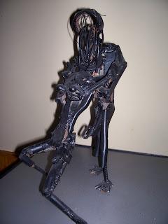 Esculturas con chatarra!!