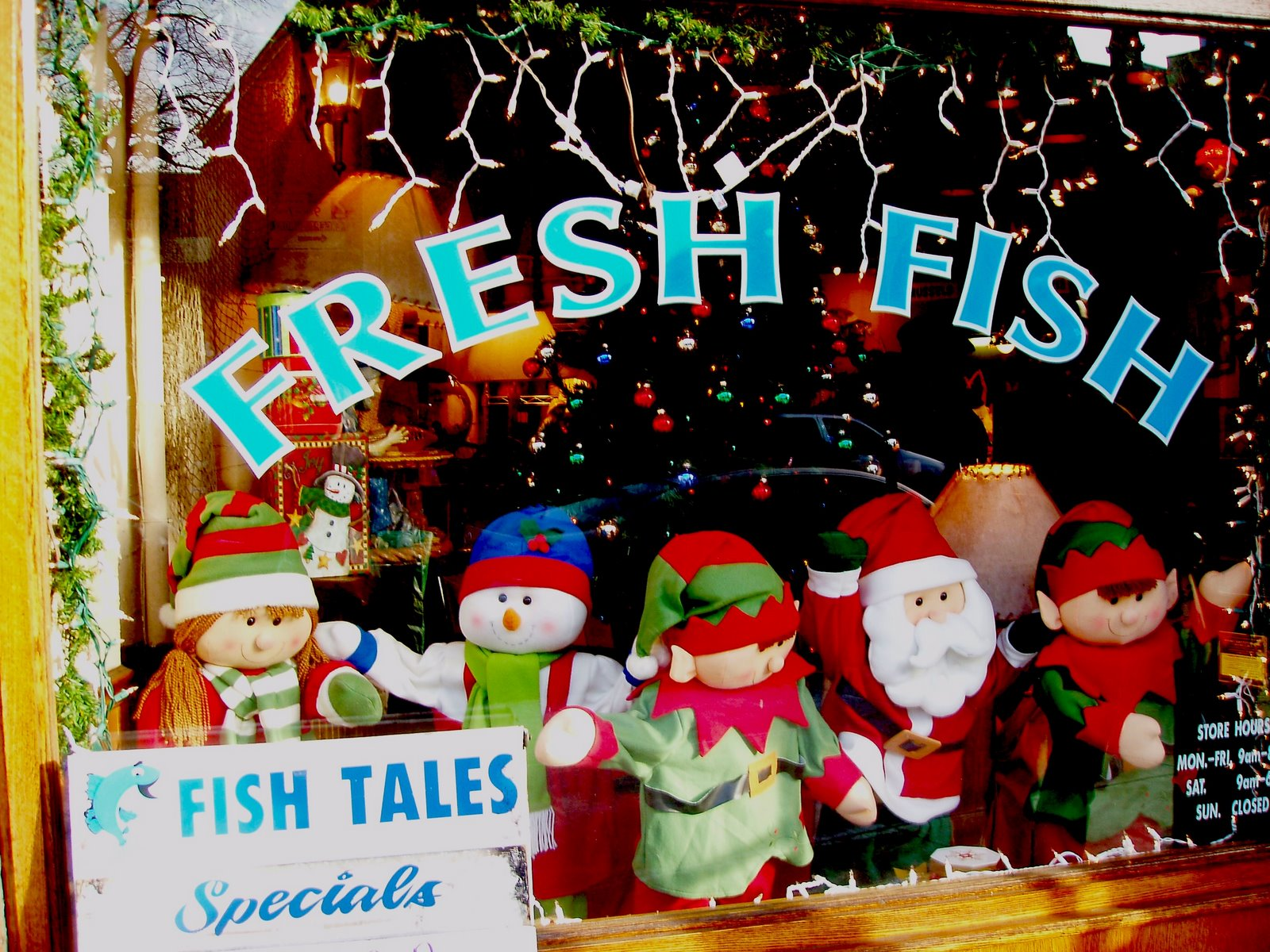 Pardon me for asking we wish you a fishy christmas for Fresh fish store near me