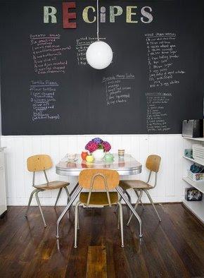 The house of logo pogo chalkboard paint ideas - Chalk paint wall ideas ...