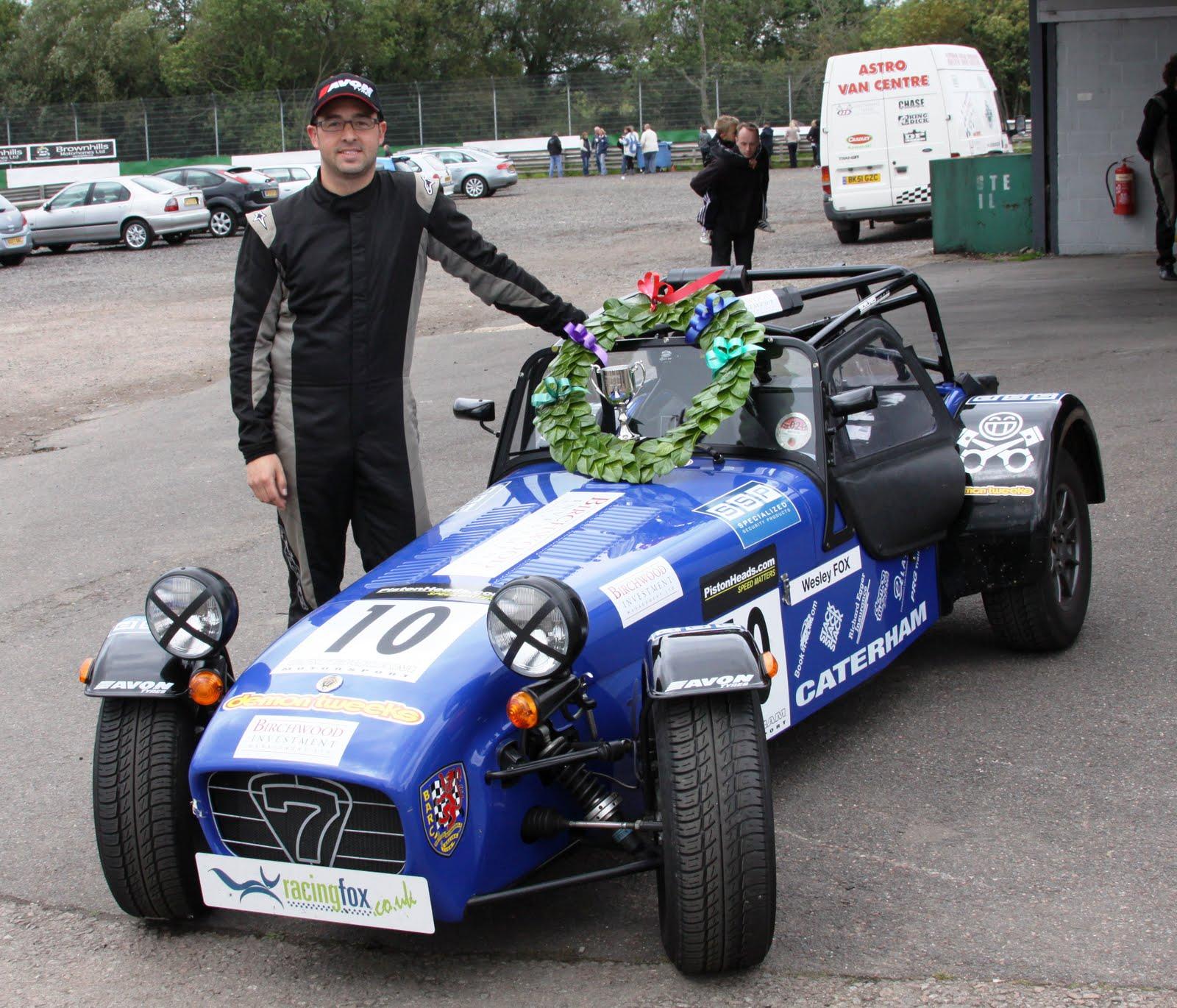Wesley Fox Caterham Academy And Roadsport Champion