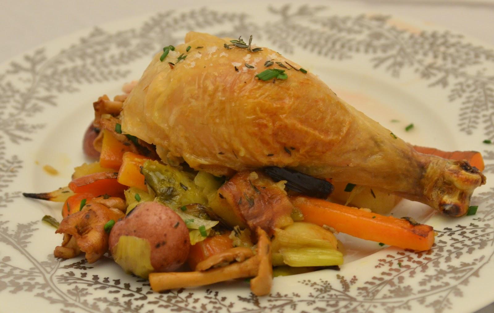 Navy Blue Kitchen: Thomas Keller's Roasted Chicken