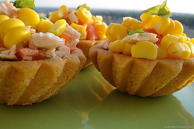 babeczki z kukurydzą