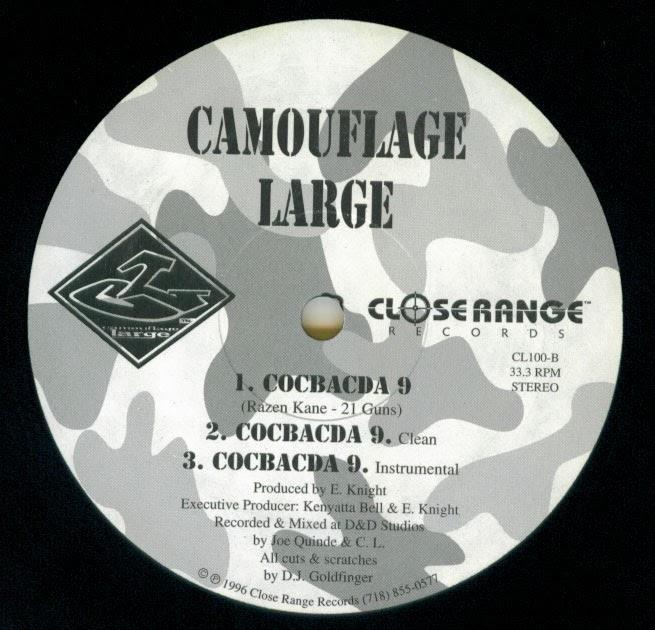 Camouflage Large - Hitmen Holdin' Steel / Cocbacda 9