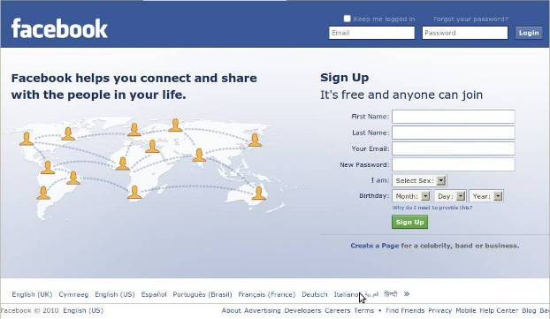 Welcome to Facebook Log In Facebook