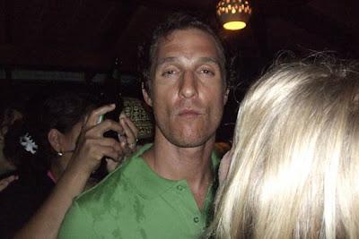 Matthew Mcconaughey stoned
