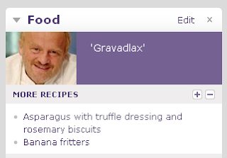 Anthony Worrall Thompson says 'gravadlax' on BBC homepage