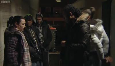 EastEnders gang scene set in Balham