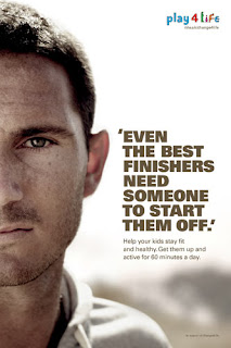 Frank Lampard Change 4 Life advert