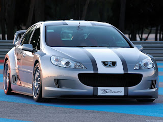 Peugeot 407 Silhouette 2004 Sports Car