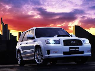 Subaru Forester STi 2005