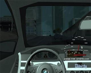 Camara dentro do carro para GTA San Andreas