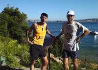 The bush near Sydney Harbour is a great place for a run!