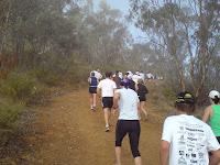 It was a long hill!