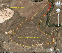 The Jogalong course in Stromlo 'forest'