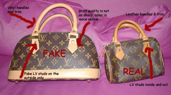 Fashion is A Lifestyle: How To Spot a fake LOUIS VUITTON BAG