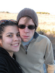 The Hubby and I on a hike