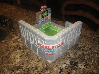 baseball field cake, boys birthday cake, las vegas cakes