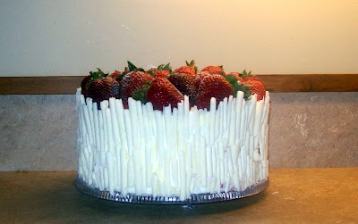 White chocolate cake, Strawberry cake, Las Vegas cakes