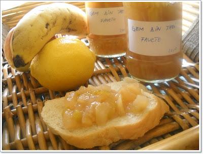 Articole culinare : Gem din 3 fucte (mere,pere si banane)
