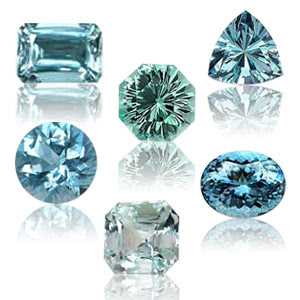 Aquamarine - March Birthstones