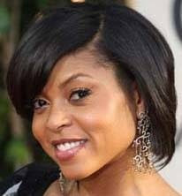 Taraji Hensen in Fashionable Earrings