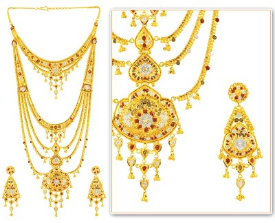 Indian Bridal Gold Jewellery Set 2010