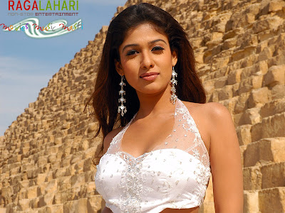 Nayantara in Designer Diamond Earrings