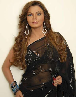 Rakhi Sawant Designer Diamond Earrings