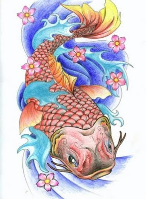 Picture of Koi Fish Tattoo