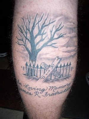 Tree Tattoo - Memorial Tattoo