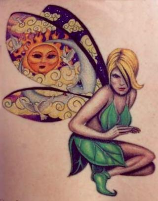 More Cool Dragon Tattoos Fairy Girl Tattoo Design