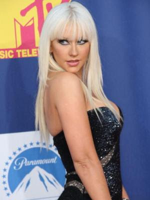 Christina Aguilera - Blonde Long Hairstyle